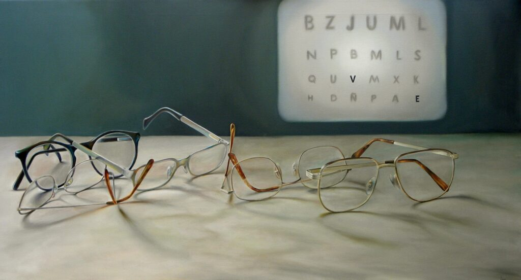 Närsynthet glasögon